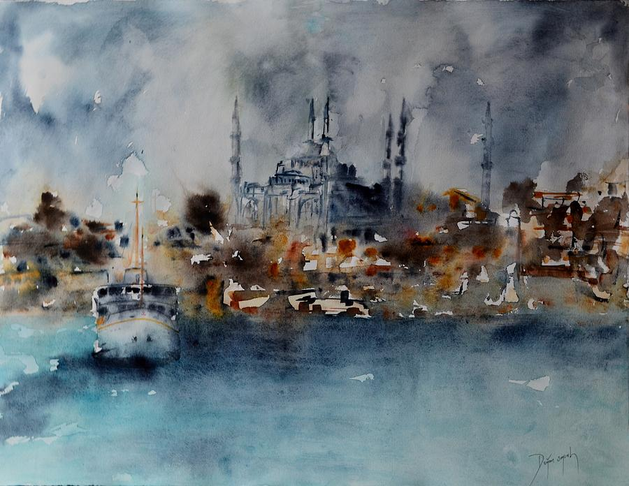 W 55 Istanbul Painting