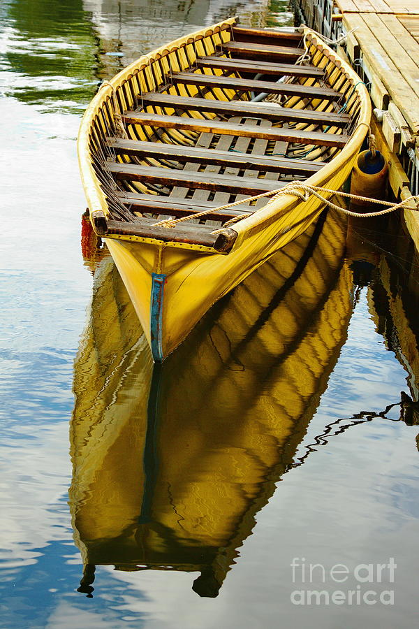 Wooden Boat Photograph