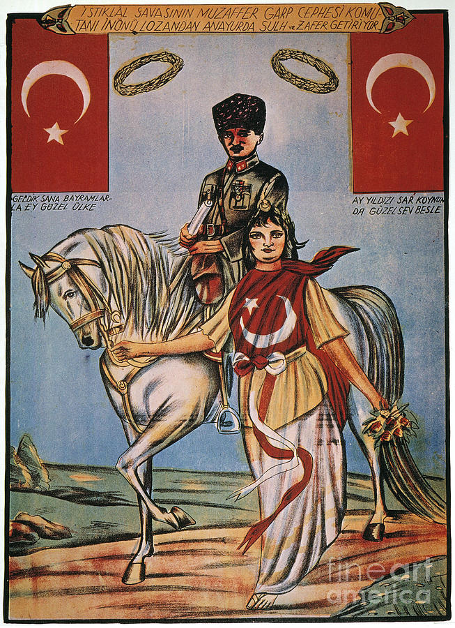Republic Of Turkey: Poster Painting  - Republic Of Turkey: Poster Fine Art Print