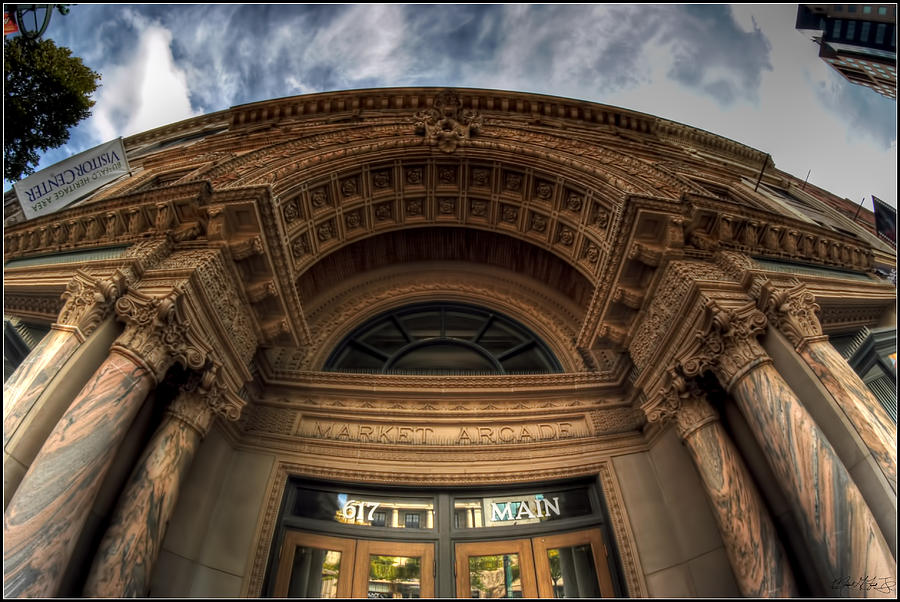 Photograph - 008 Architectural Beauty Of Downtown Buffalo Series by Michael Frank Jr