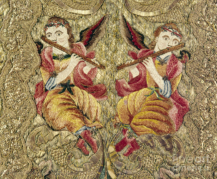 Chasuble, 18th Century Painting  - Chasuble, 18th Century Fine Art Print