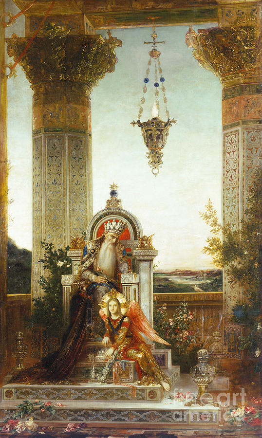 Moreau: King David Painting