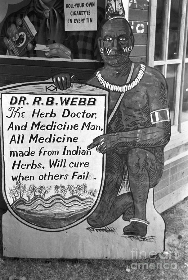 Medicine Man, 1938 Photograph