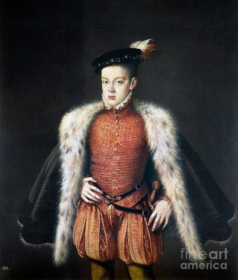 Carlos, Prince Of Asturias Painting