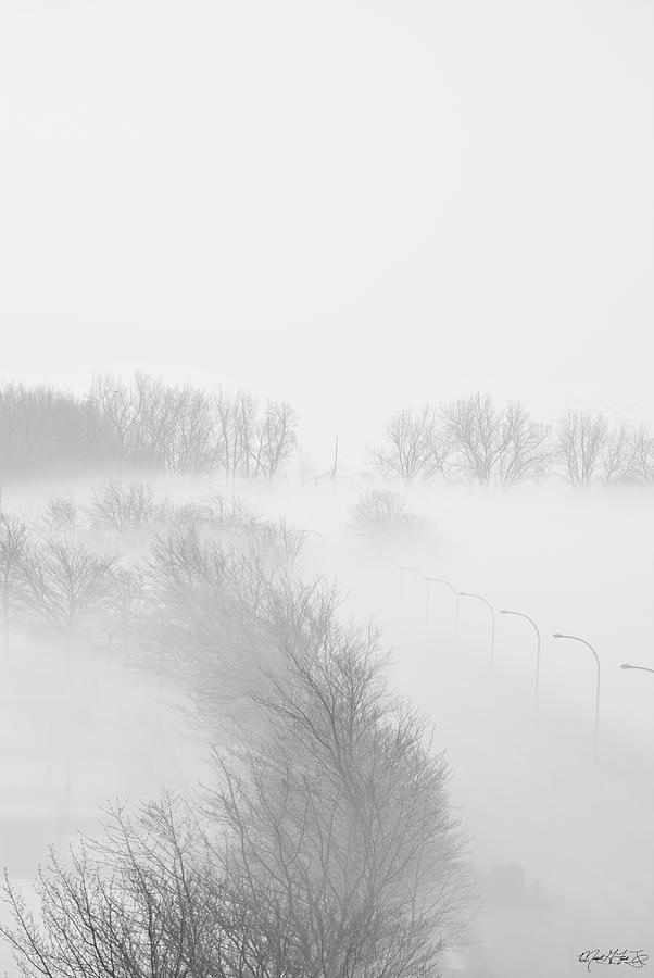 023 Buffalo Ny Weather Fog Series Photograph  - 023 Buffalo Ny Weather Fog Series Fine Art Print