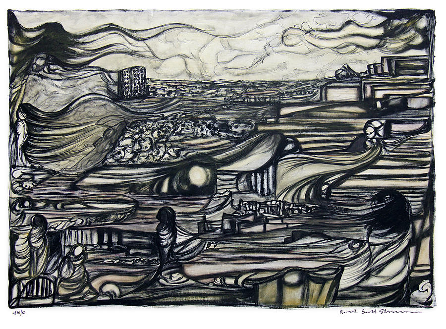 Sevenoaks Charity Auction Painting - 04102012 by Russell Scott-Skinner