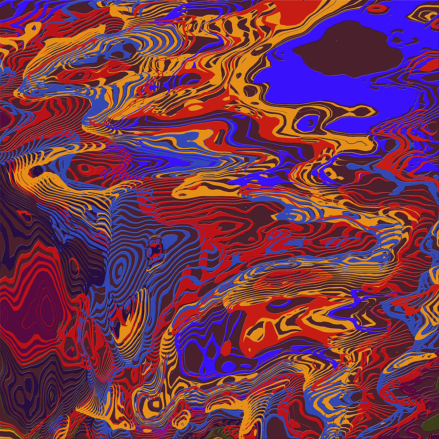 0696 Abstract Thought Digital Art