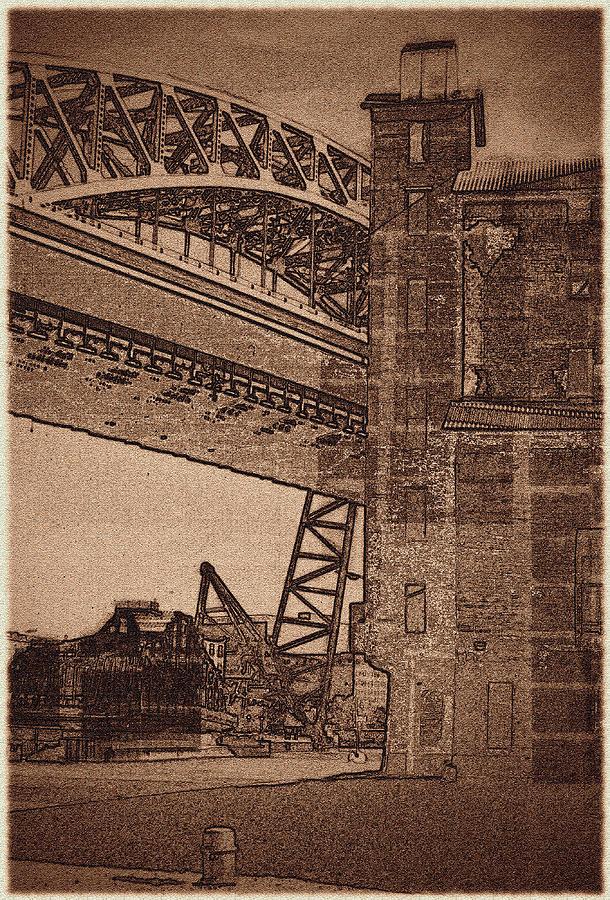 Bridge Photograph - 070506-74 by Mike Davis