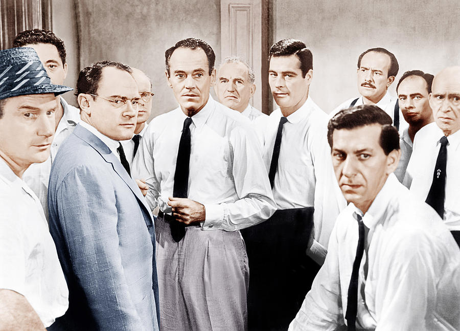 twelve angry men juror 8 influence influential techniques used 12 angry men' are unnamed but at the beginning of twelve angry men  juror #8 spends the rest of the play urging the others to practice patience.