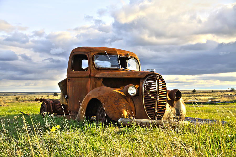1938 Ford Pickup Photograph By Steve Mckinzie