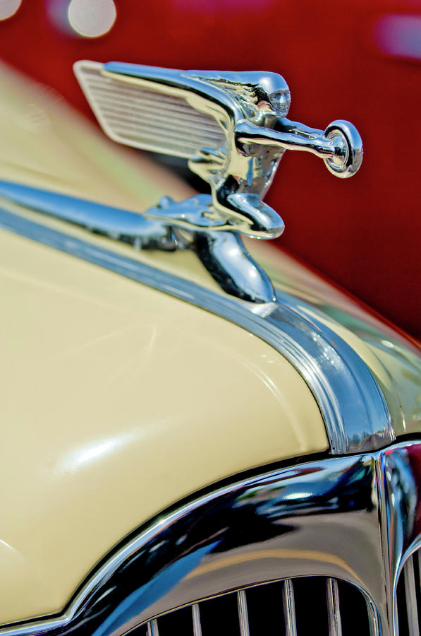 1940 Packard Hood Ornament Photograph