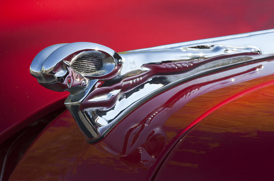 1950 dodge ram hood ornament is a photograph by jill reger which was. Cars Review. Best American Auto & Cars Review