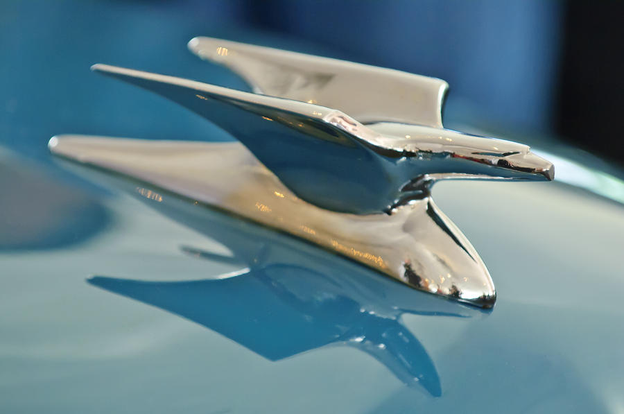 1952 Crosley Super Woody Wagon Hood Ornament Photograph