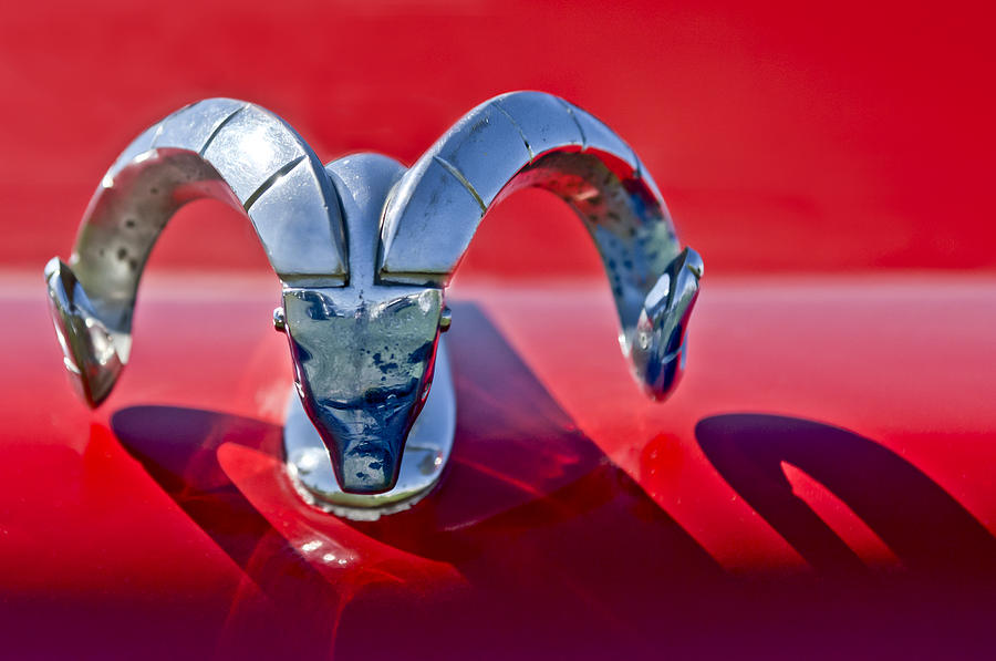 1952 dodge ram photograph 1952 dodge ram hood ornament by jill reger. Cars Review. Best American Auto & Cars Review