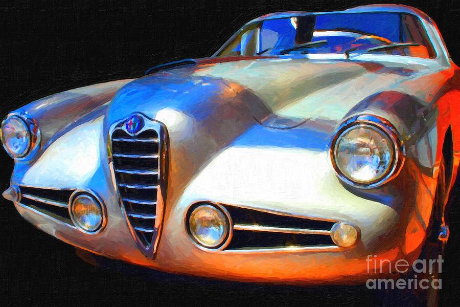 1955 Alfa Romeo 1900 Ss Zagato Photograph
