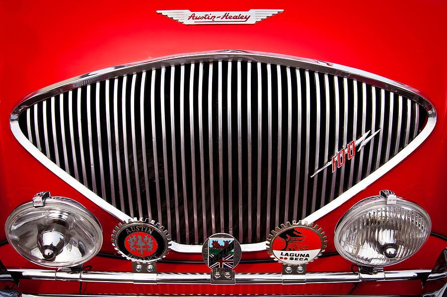 1955 Austin Healey 100-4 Photograph