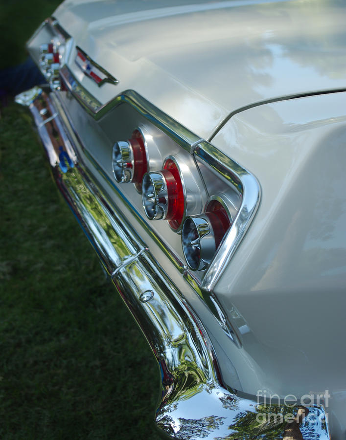 1963 Chevy Impala Taillights Photograph  - 1963 Chevy Impala Taillights Fine Art Print