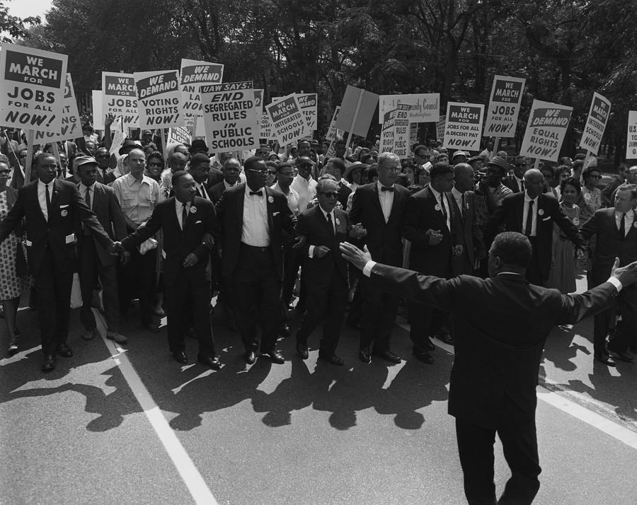 1963 March On Washington. Famous Civil Photograph