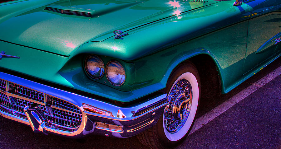 1966 Ford Thunderbird Photograph  - 1966 Ford Thunderbird Fine Art Print