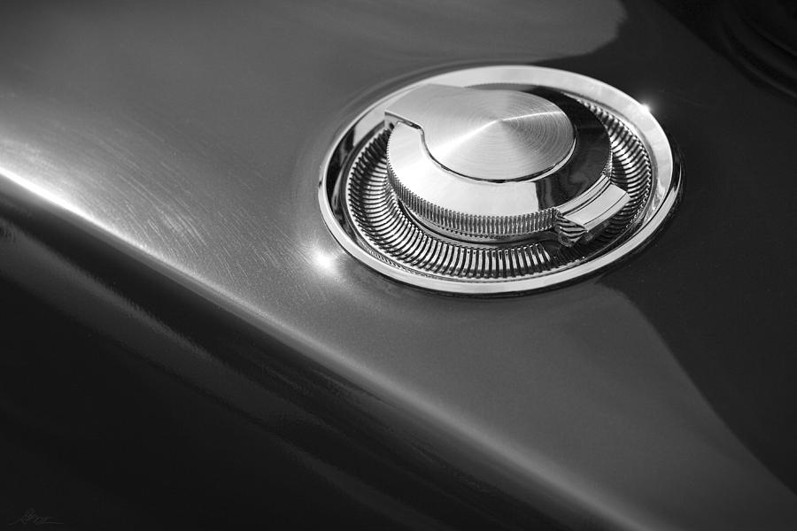 1968 Dodge Charger Fuel Cap is a photograph by Gordon Dean II which
