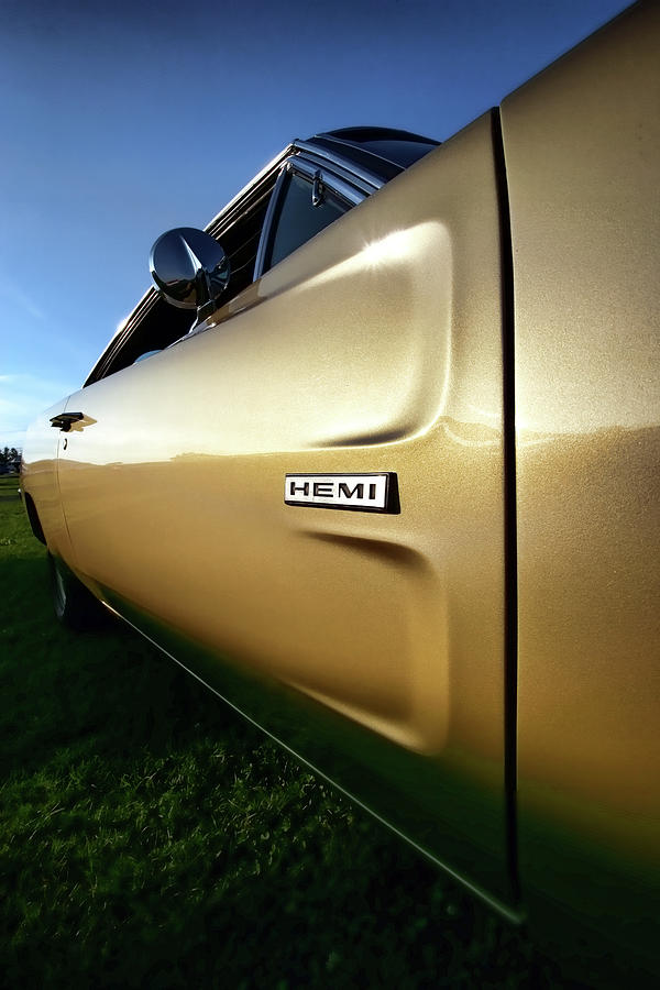 1968 Dodge Charger Hemi Photograph