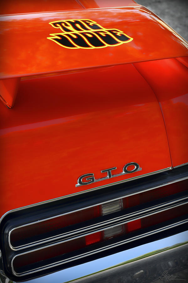 1969 Pontiac Gto The Judge Photograph  - 1969 Pontiac Gto The Judge Fine Art Print