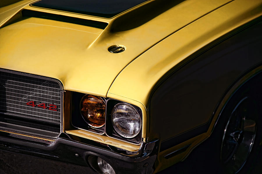 1972 Oldsmobile Cutlass 442 Photograph  - 1972 Oldsmobile Cutlass 442 Fine Art Print