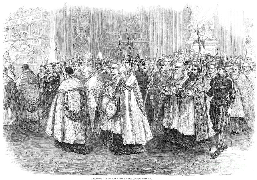 1st Vatican Council, 1869 Photograph