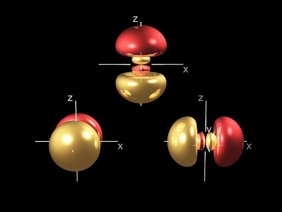 3p Electron Orbitals Photograph