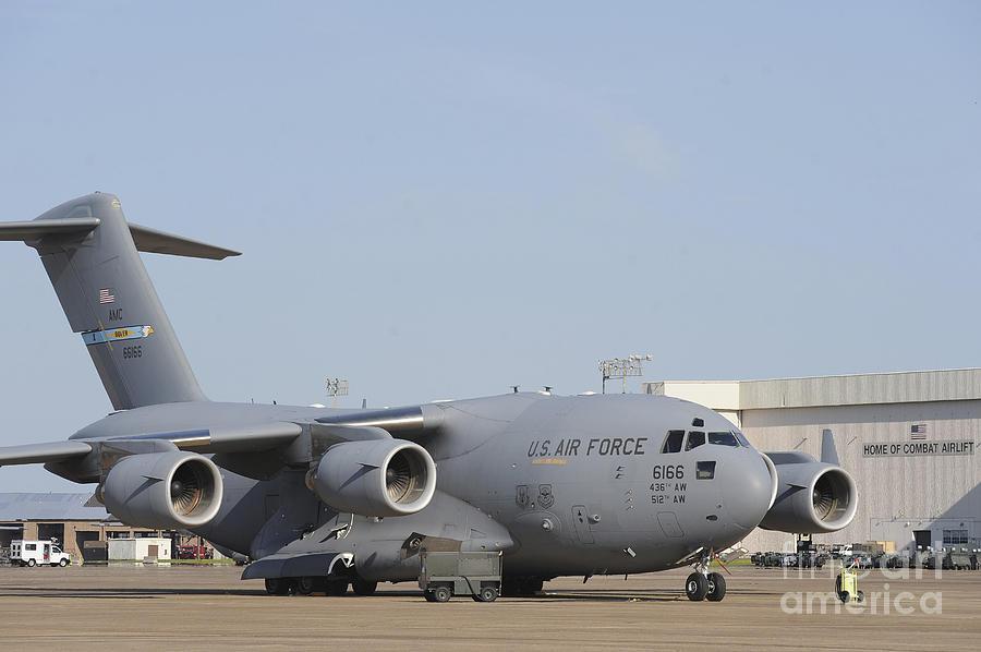 A C-17 Globemaster IIi Parked Photograph