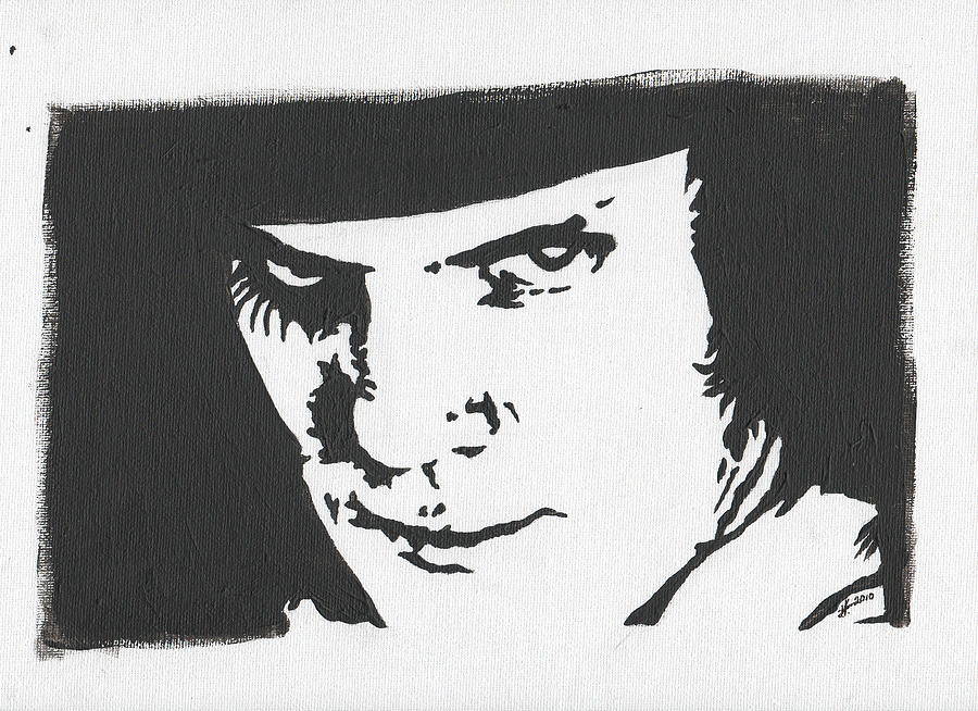 A Clockwork Orange by Kris P A Clockwork Orange Painting