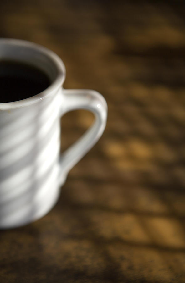 A Cup Of Coffee At A Diner Photograph  - A Cup Of Coffee At A Diner Fine Art Print