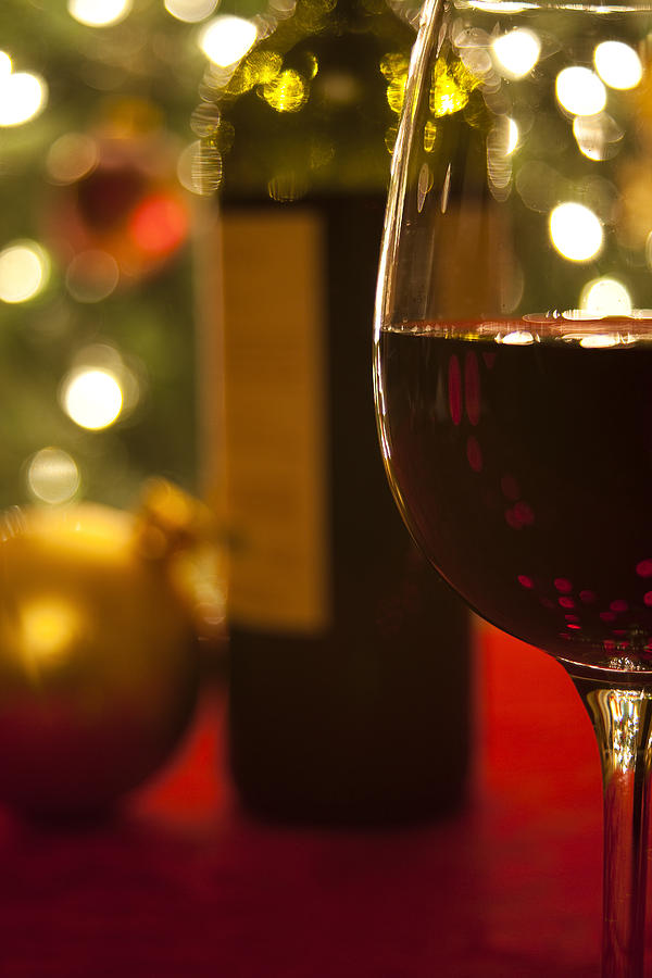 A Drink By The Tree Photograph