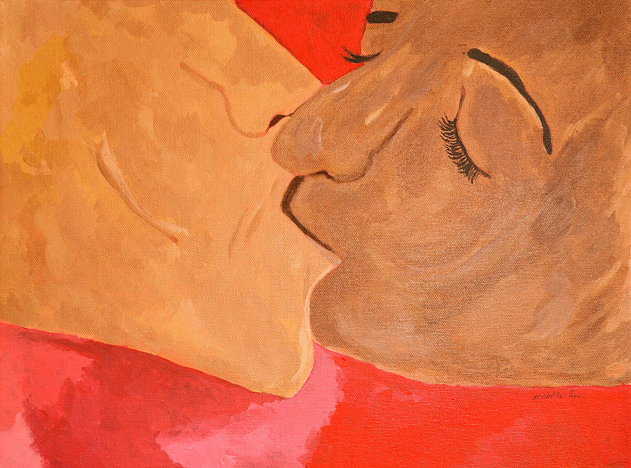 A Kiss Painting
