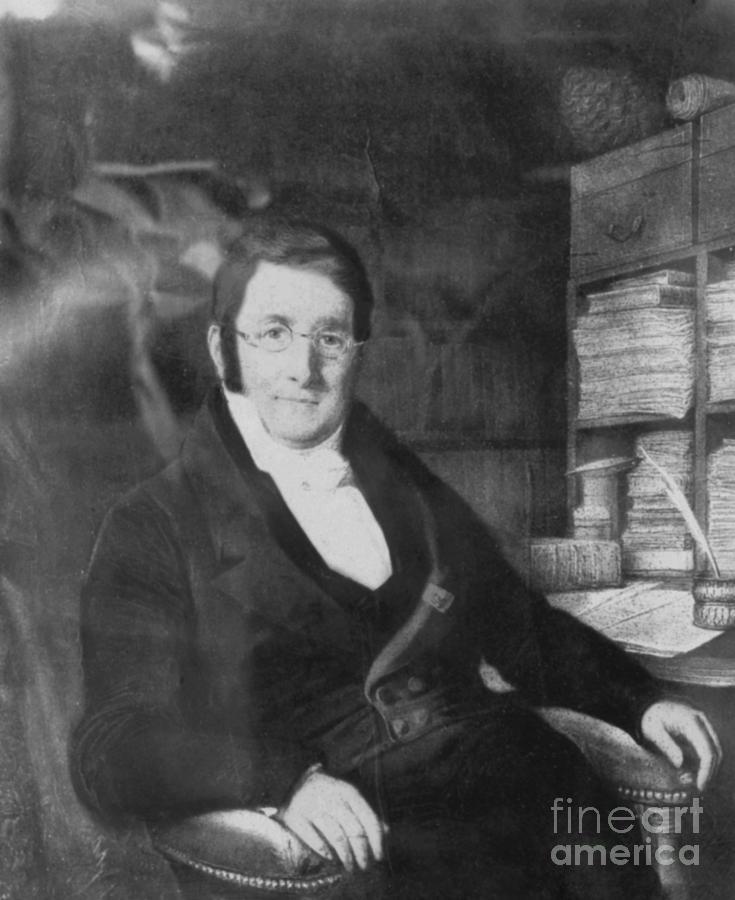 A. P. De Candolle, Swiss Botanist Photograph