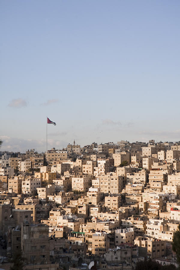 No People Photograph - A View Of Amman, Jordan by Taylor S. Kennedy