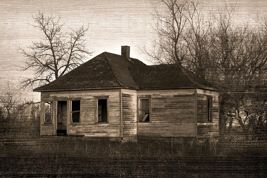 Abandoned Farm House Photograph