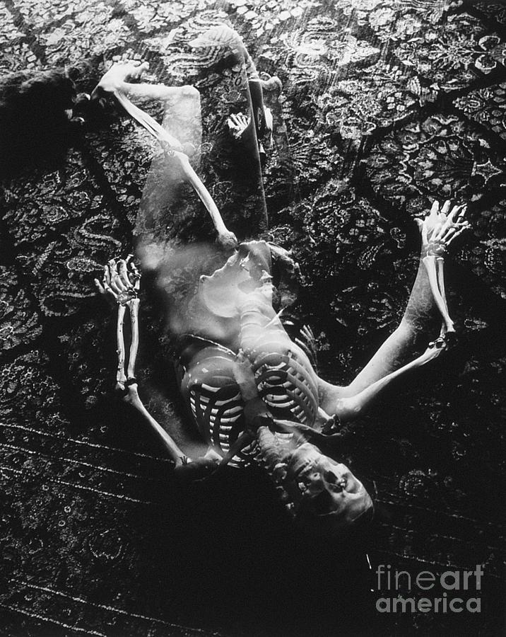 Abby Martha And Death Photograph