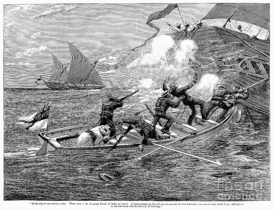 Africa: Slave Trade, 1892 Photograph