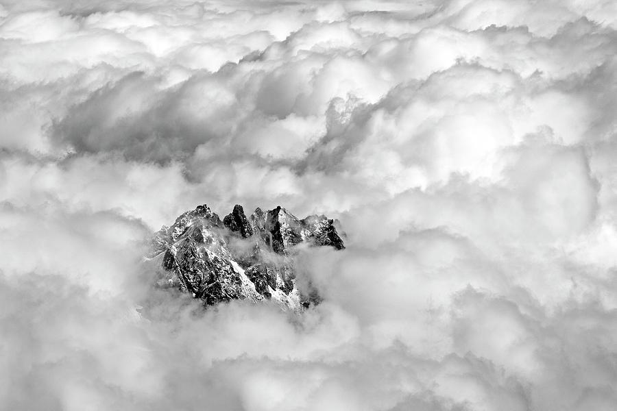 Aiguille Du Midi Photograph