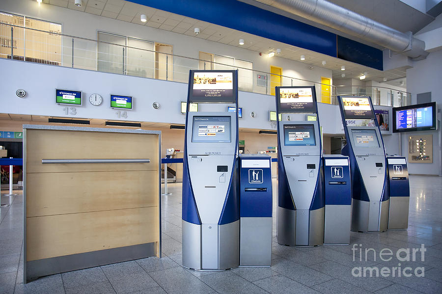Airport Check In Terminals Photograph  - Airport Check In Terminals Fine Art Print