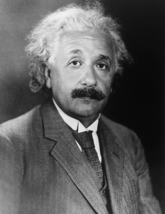 Albert Einstein 1879-1955 Photograph  - Albert Einstein 1879-1955 Fine Art Print