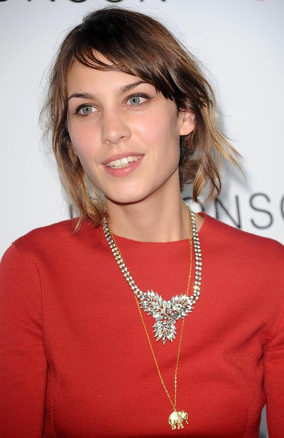 Alexa Chung At Arrivals For The Photograph  - Alexa Chung At Arrivals For The Fine Art Print