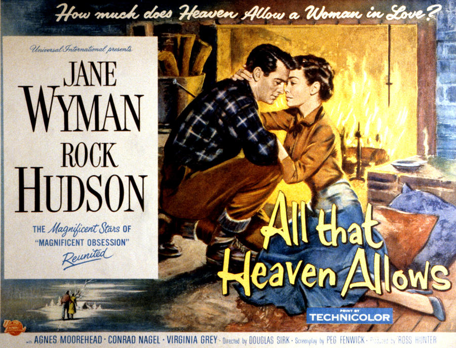 All That Heaven Allows, Rock Hudson Photograph