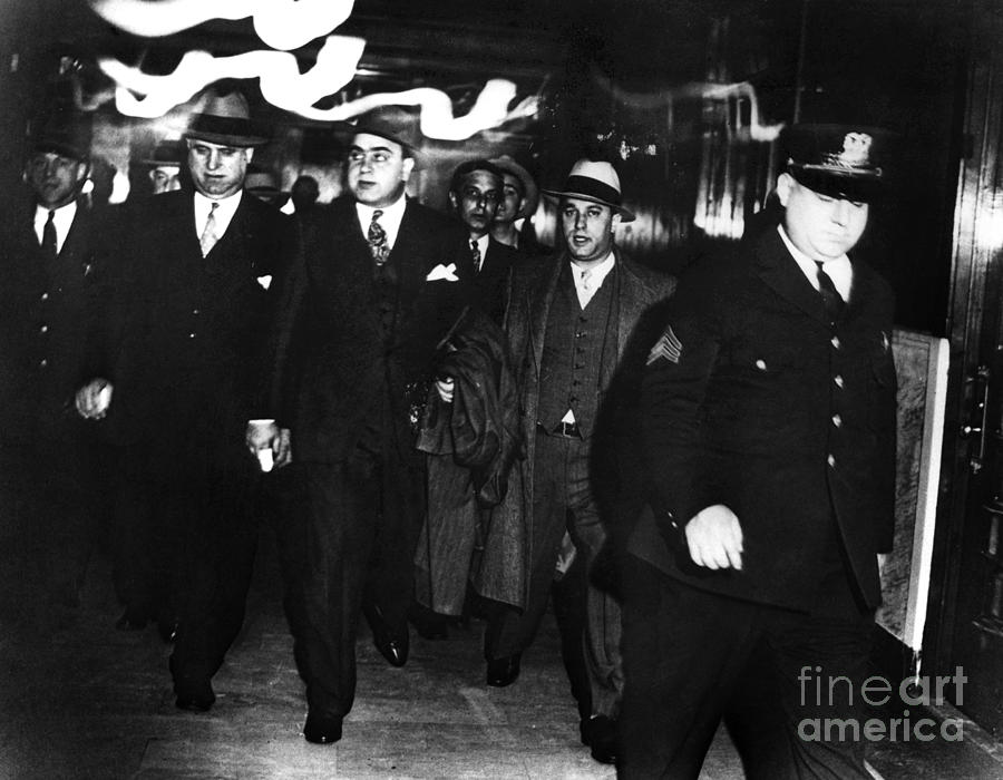 Alphonse Capone (1899-1947) Photograph