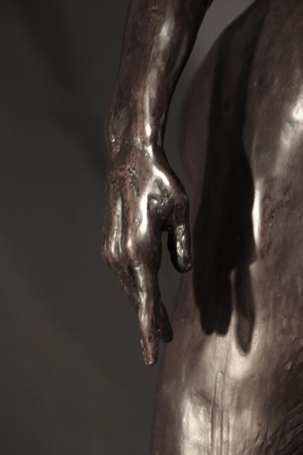 Amazing Grace Close Up View Sculpture