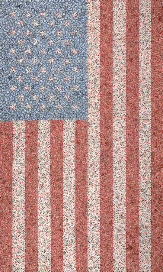 America Mixed Media  - America Fine Art Print