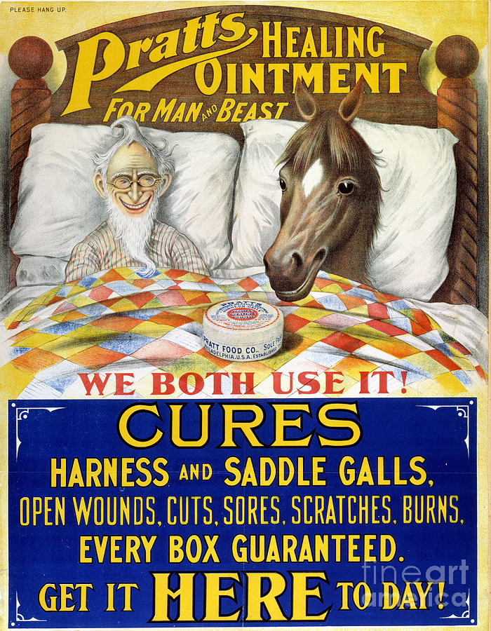 American Patent Medicine Digital Art