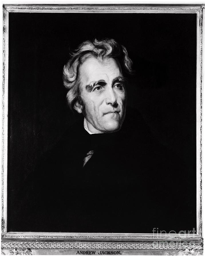 Andrew Jackson, 7th American President Photograph