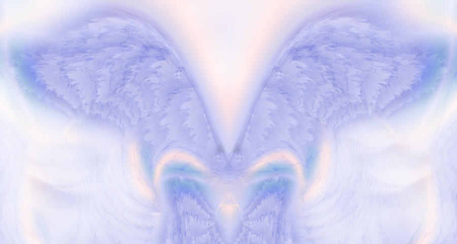Angel Wings Painting  - Angel Wings Fine Art Print